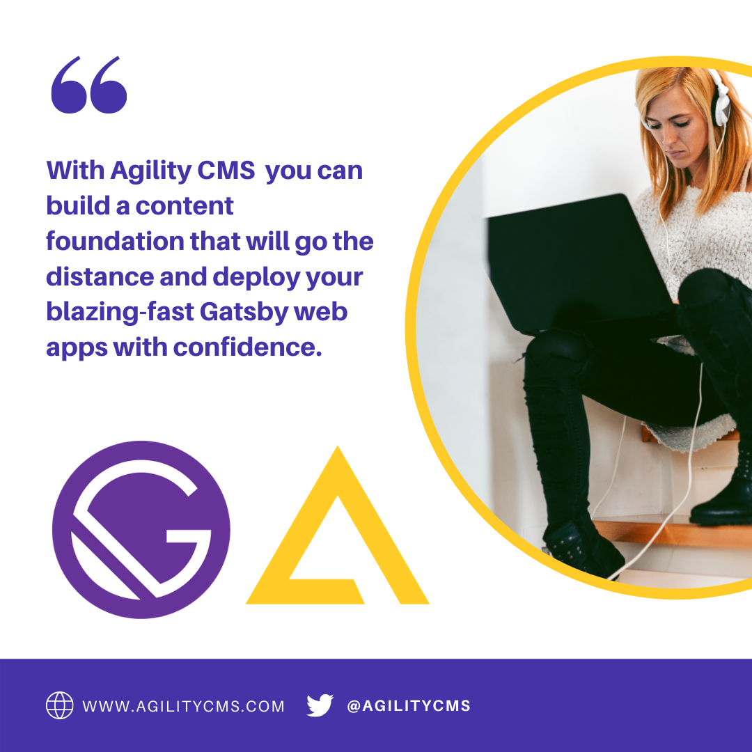 Using Gatsby with Agility CMS