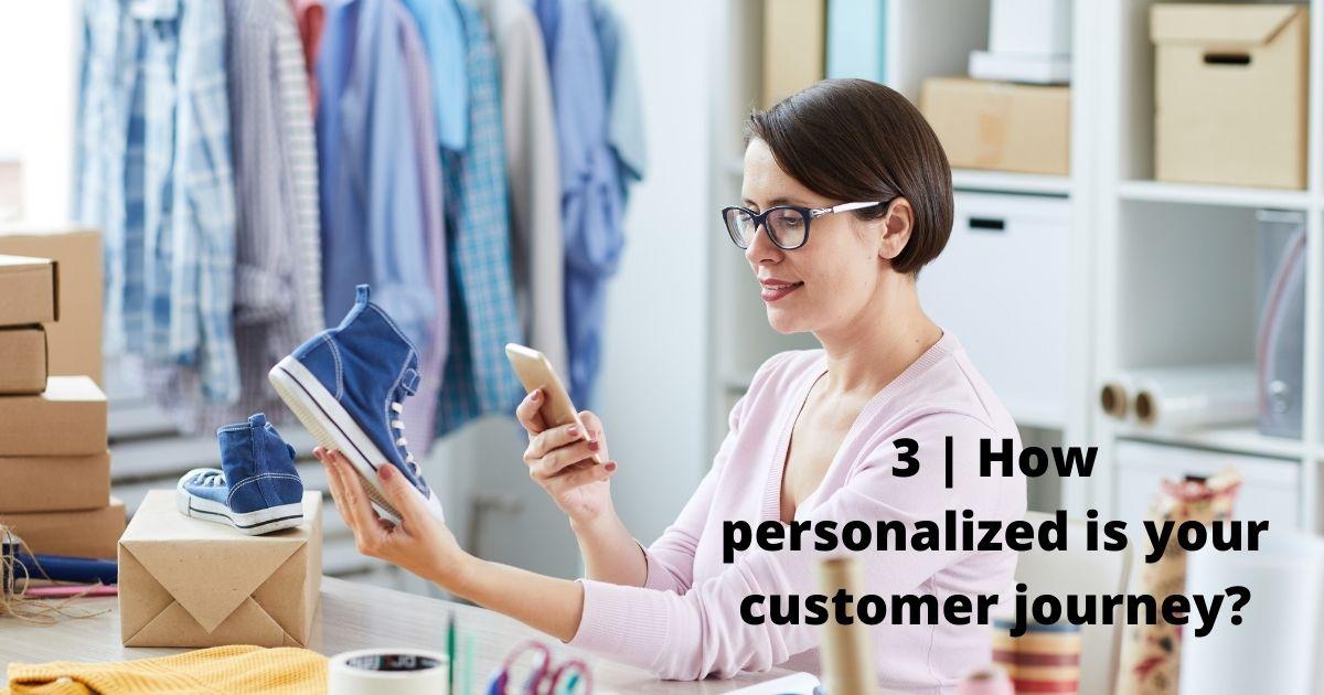 Personalizing customer journey