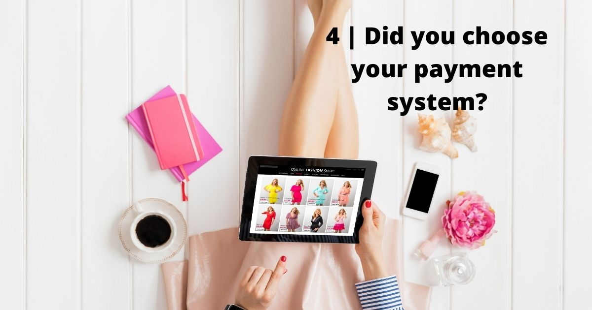 Choose the payment system