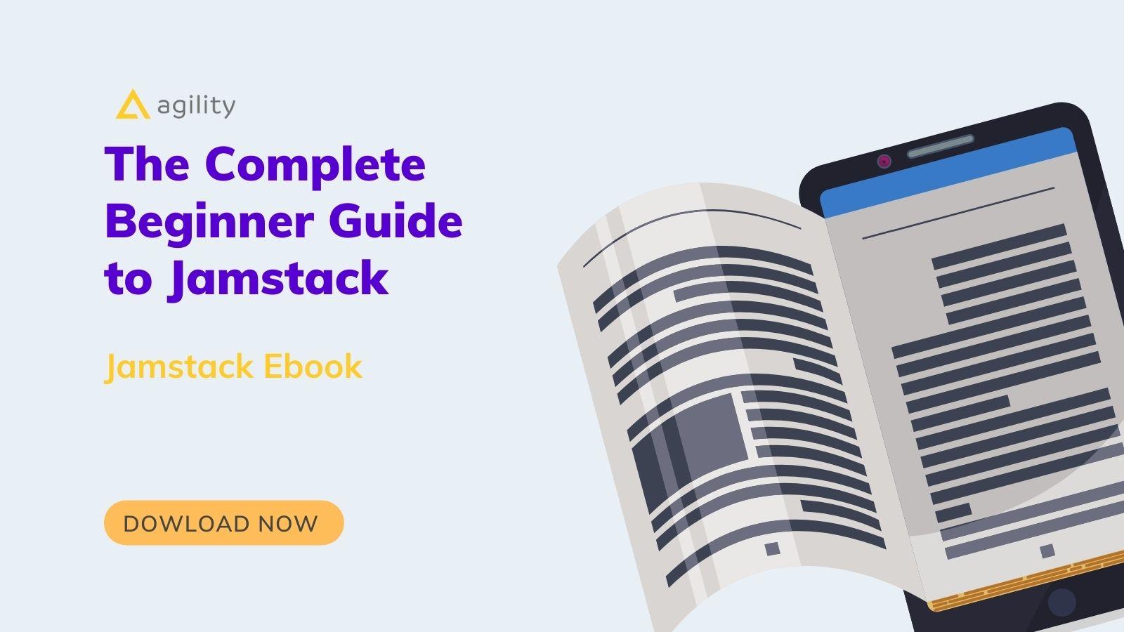 Jamstack Ebook on agility CMS