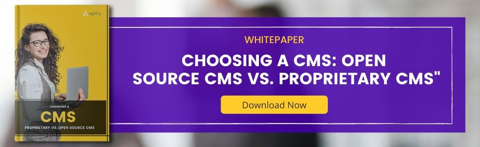 "Whitepaper ""Choosing a CMS: Open Source CMS vs. Proprietary CMS"""