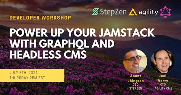 Power up your Jamstack  with GraphQL and Headless CMS