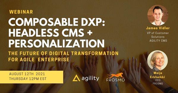 Composable DXP: Headless CMS + Personalization