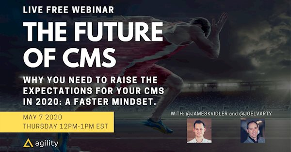 Live Free Wbinar for Digital Leaders: The Future of CMS
