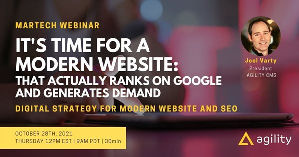 It's time for a website that actually ranks and Generates Demand
