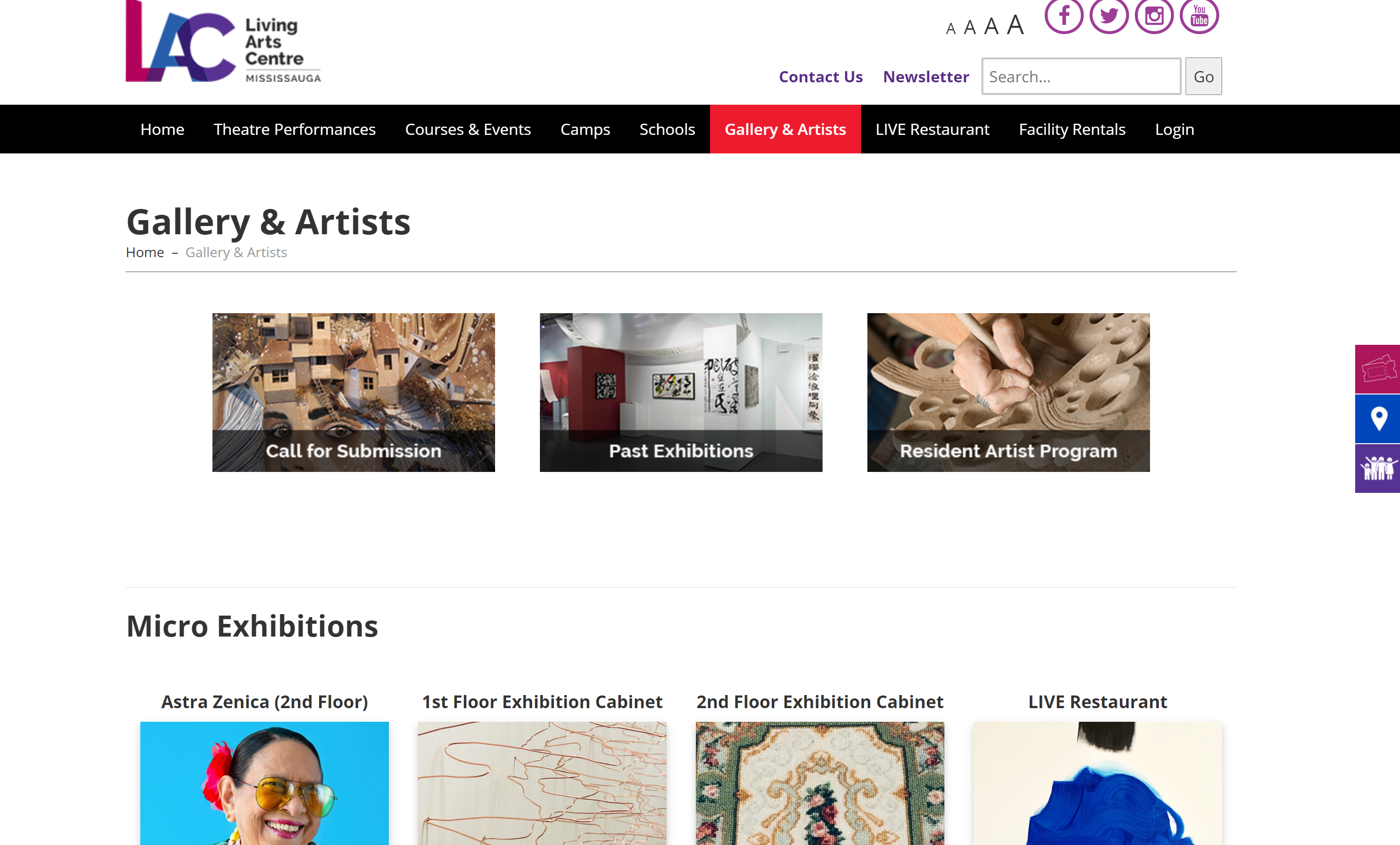 Creating an Easy Editor Experience for Living Arts Center Team