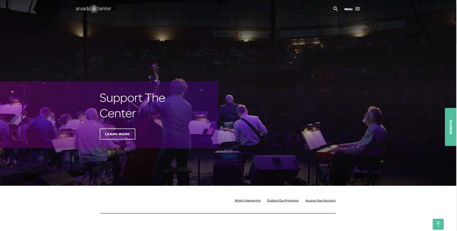 5x Faster Content Editing Experience for Arvada Center for the Arts and Humanities