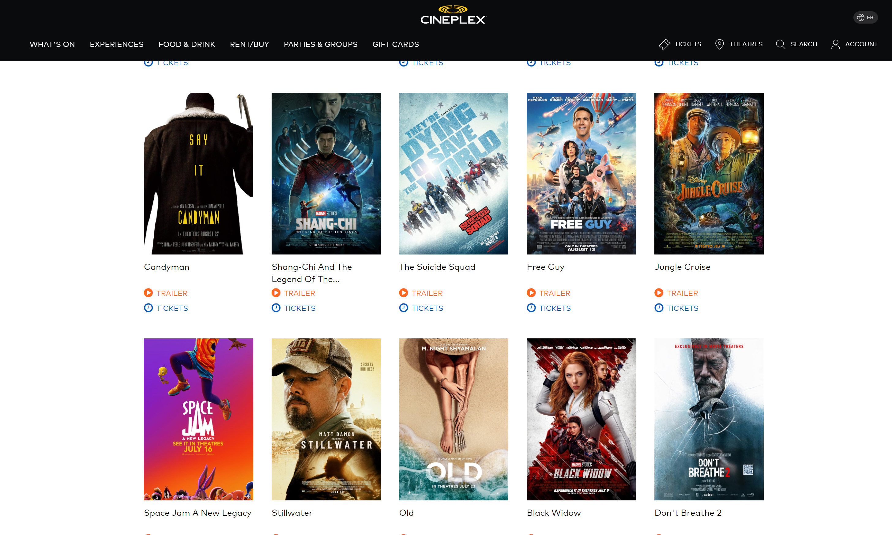 Cineplex: Ultimate Performance, Scalability and Usability for Movie Theater Giant