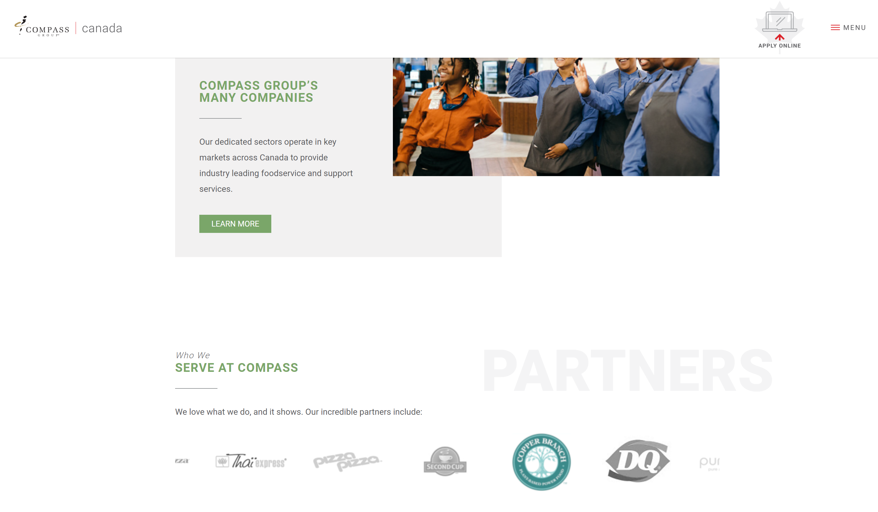 Robust, Scalable Ecommerce: New Ordering System for Compass Group Canada