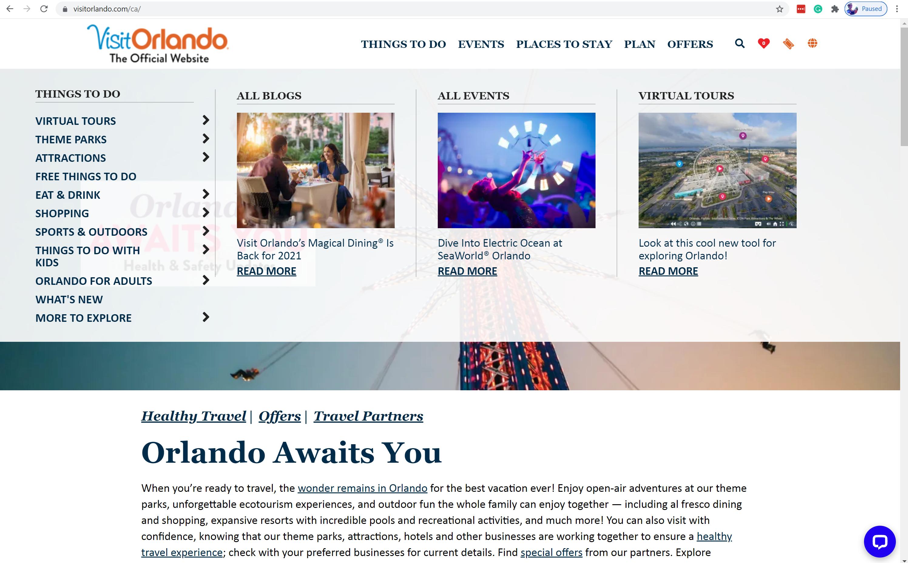 Visit Orlando: 20% increase in revenue with agile Headless Commerce