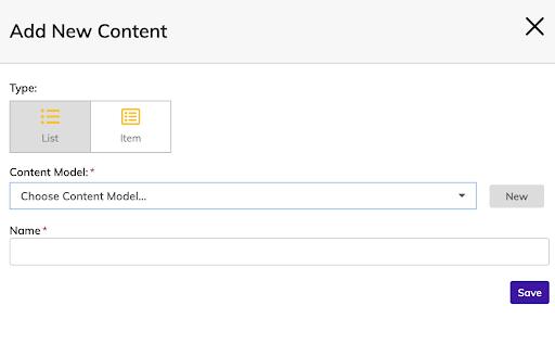 add new content stepzen