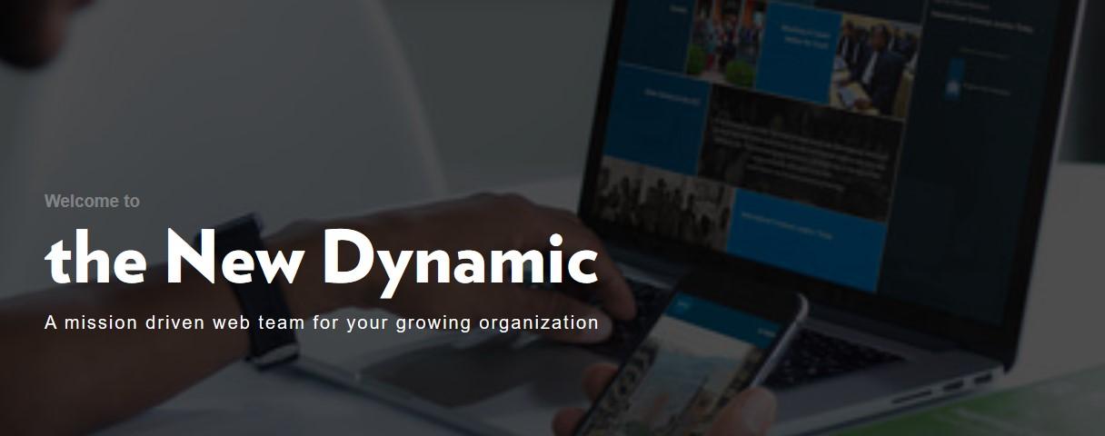 The new dynamic website screenshot on agilitycms.com