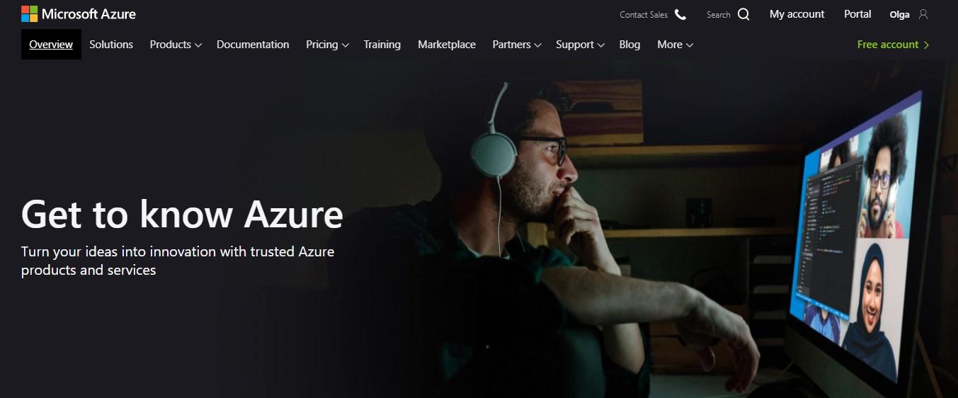 azure hosting