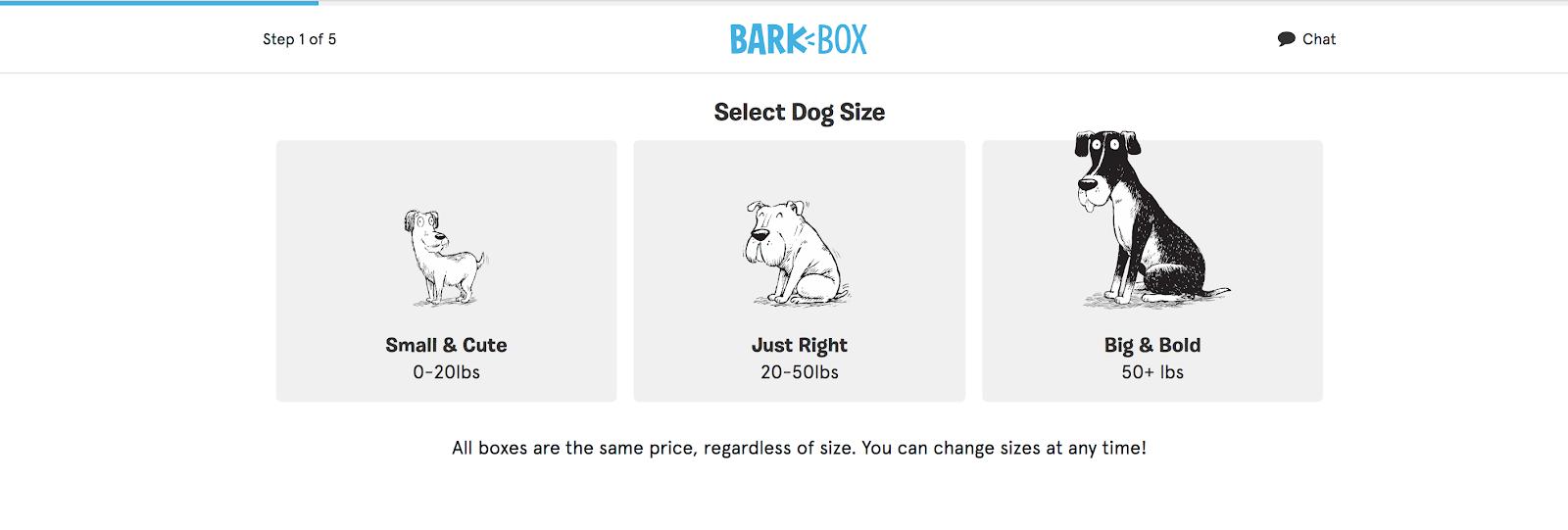 Bark-Box screenshot on agilitycms.com