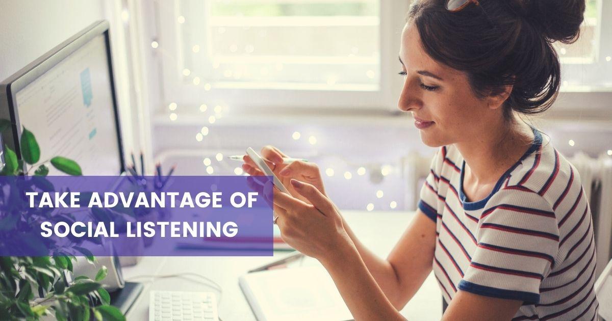 Using social listening