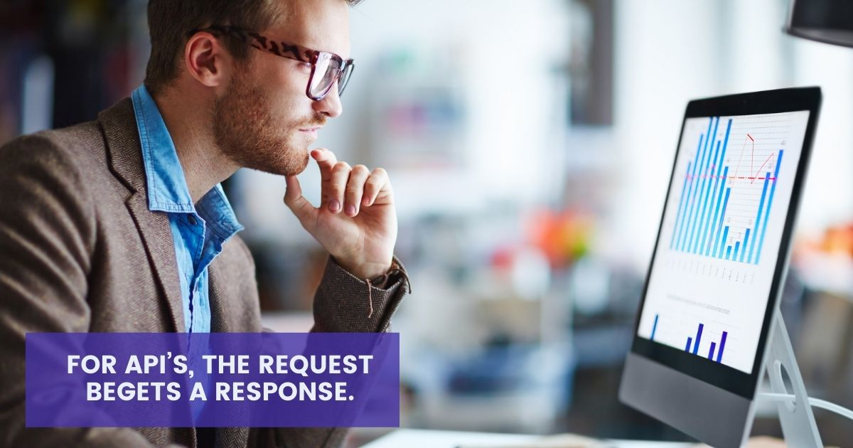For Api's, the request begets a response on agilitycms.com