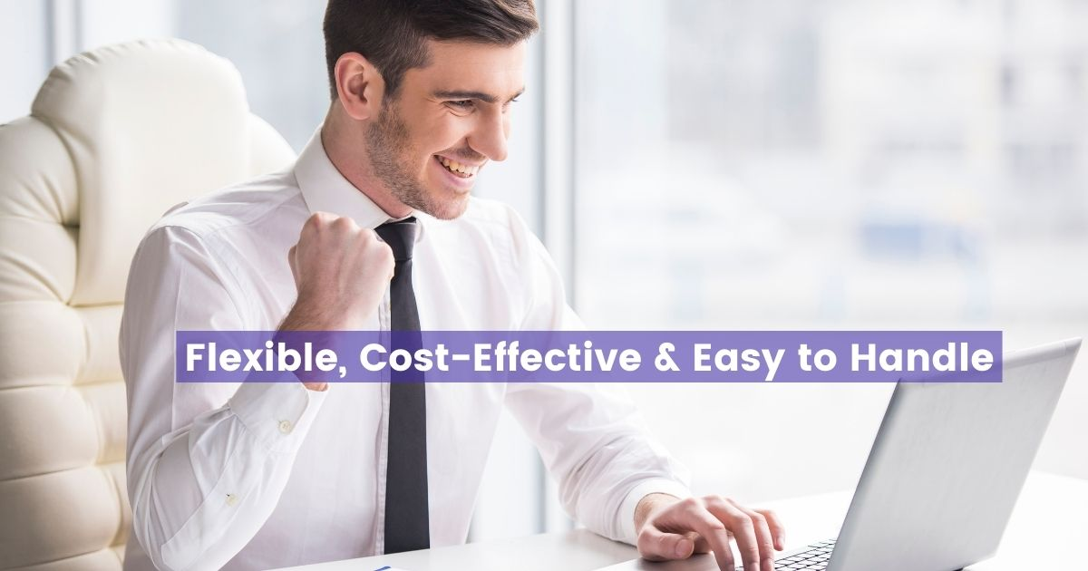 Cost-effective Agility CMS bringing joy to business man.