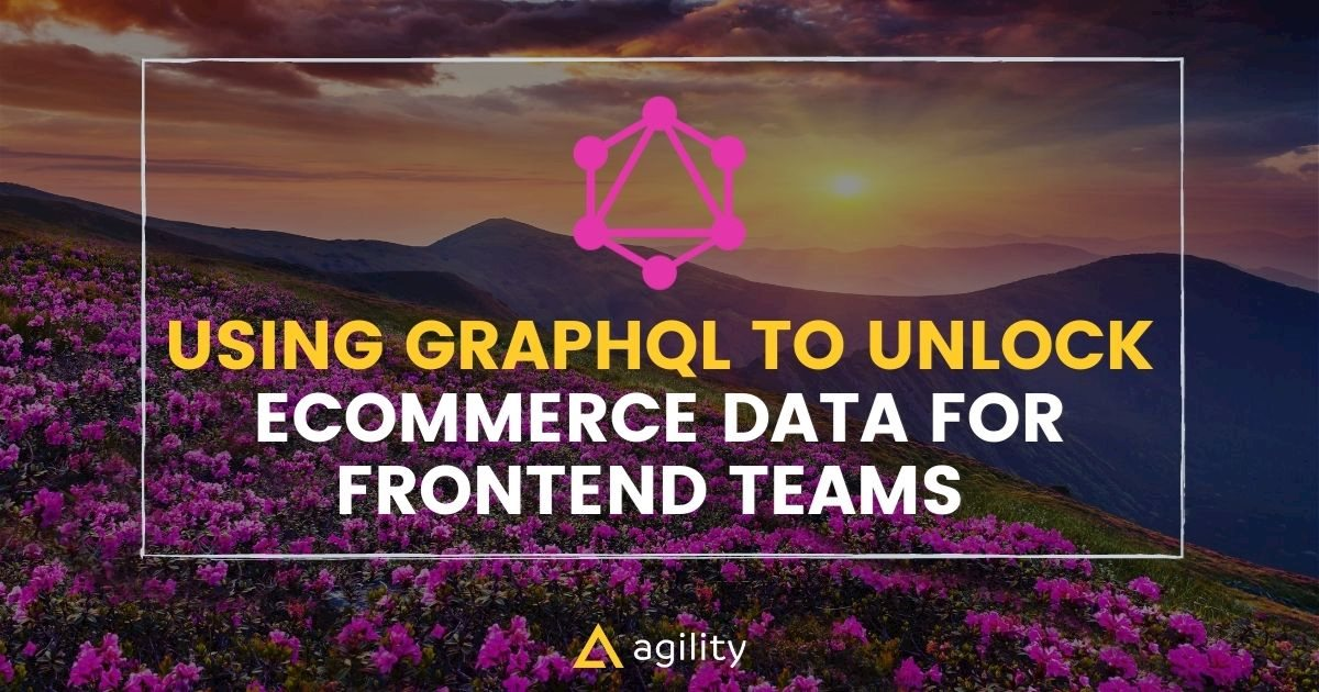 Using GraphQL to Unlock eCommerce Data for Frontend Teams