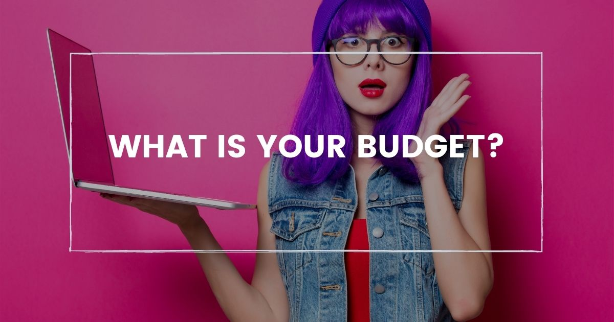 what is your budget for cms
