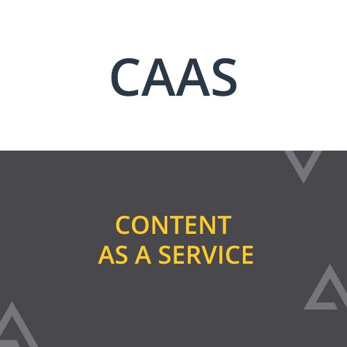 Content as a Service (CaaS) - Agility CMS