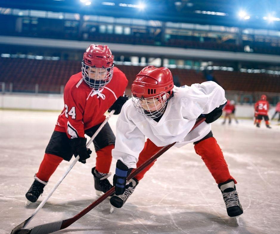 Hockey Canada players on the ice on agilitycms.com