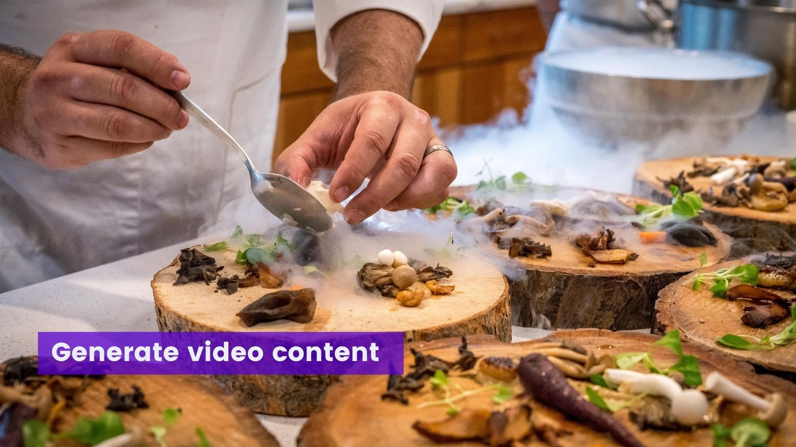 Chef creating dish on agilitycms.com