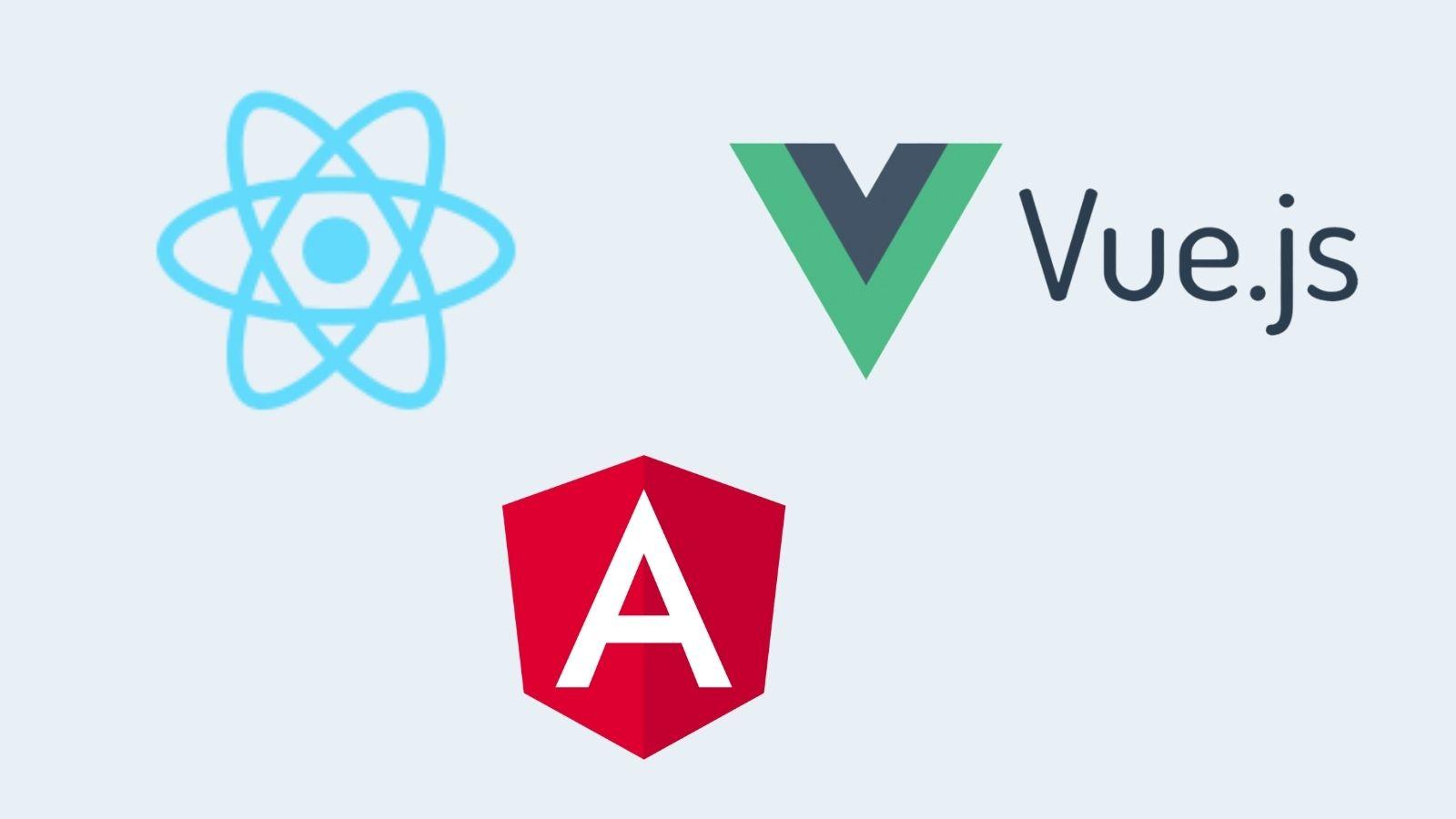Javascript framework logos on agilitycms.com