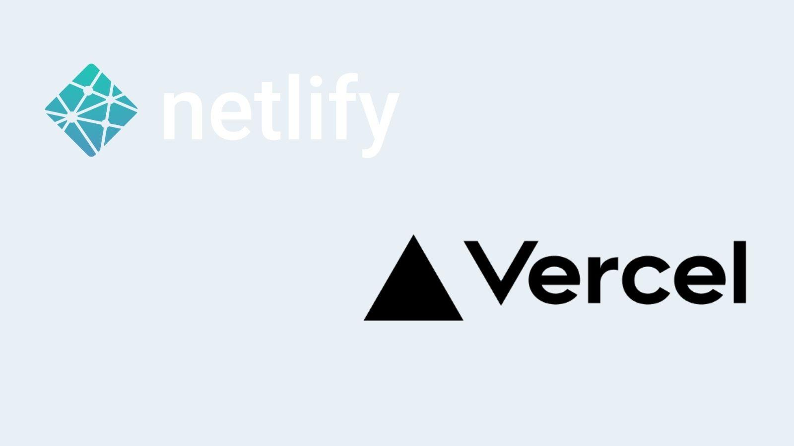 Netlify and Vercel logos on agilitycms.com