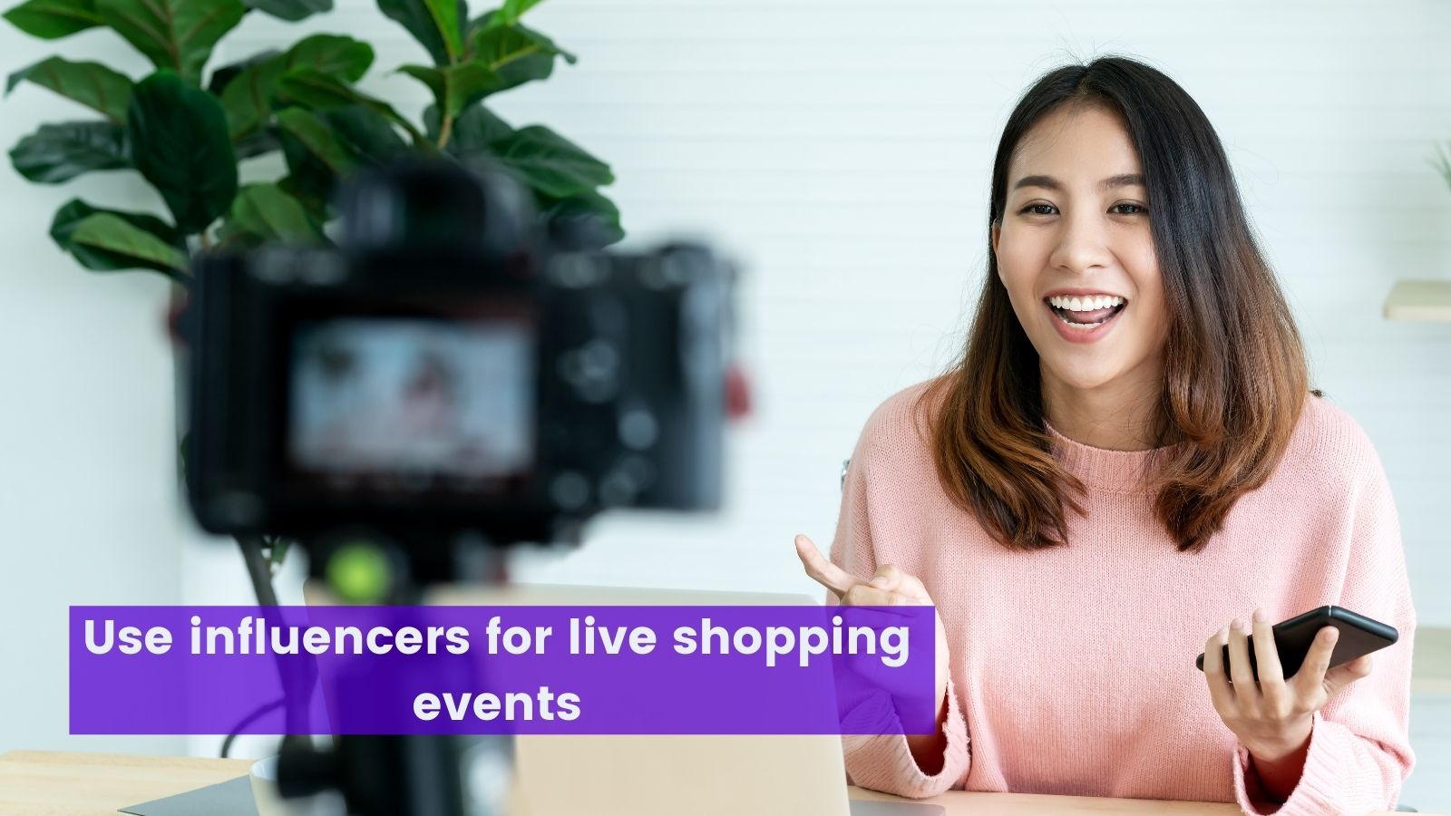 Use influencers for live shopping events on agilitycms.com