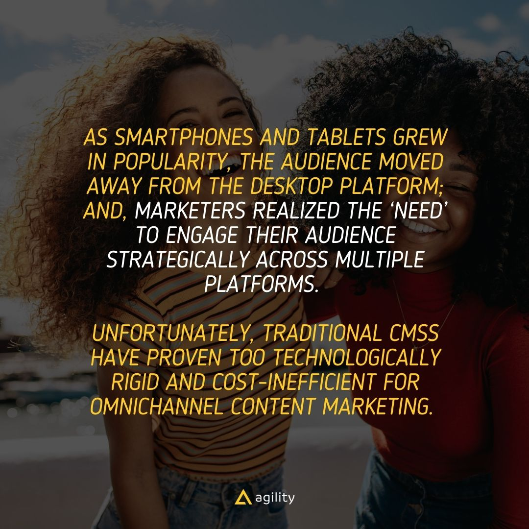 omnichannel marketing headless cms