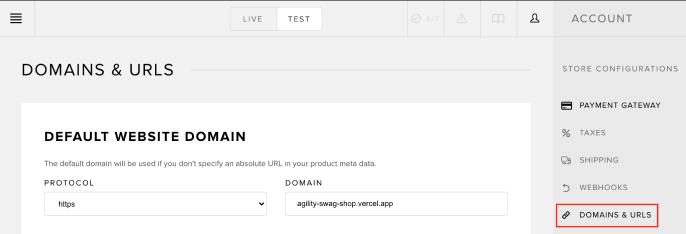 Vercel Deployment URL