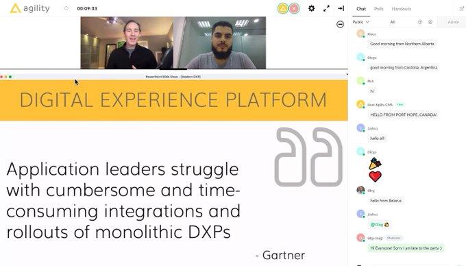 modern dxp webinar