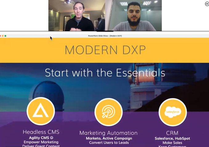 modern dxp webainr