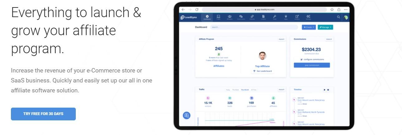LeadDyno ecommerce apps