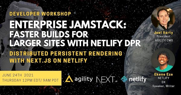 Faster Jamstack: How to use Distributed Persistent Rendering with Next.js on Netlify with a Headless CMS