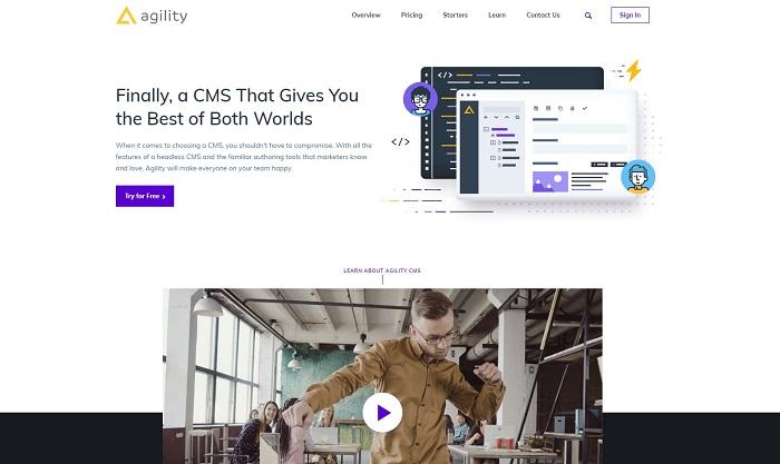 agility cms jamstack