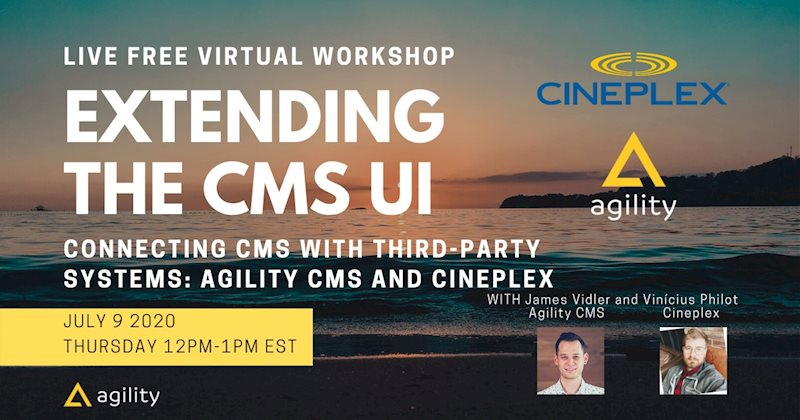 Webinar how to improve the content management user interface in 2020