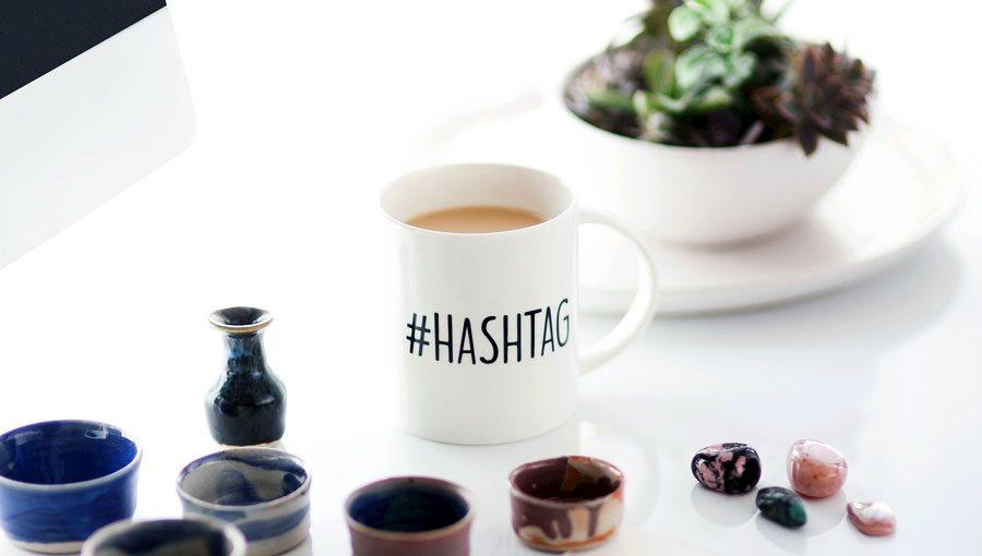 A mug with trinkets on agilitycms.com