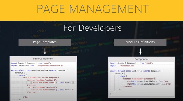 Page management HTML on agilitycms.com