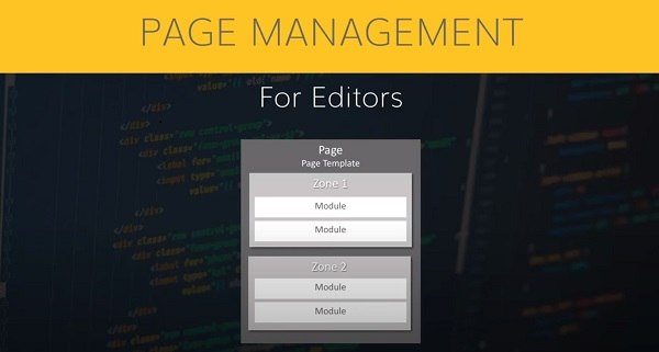 Page management for editors on agilitycms.com