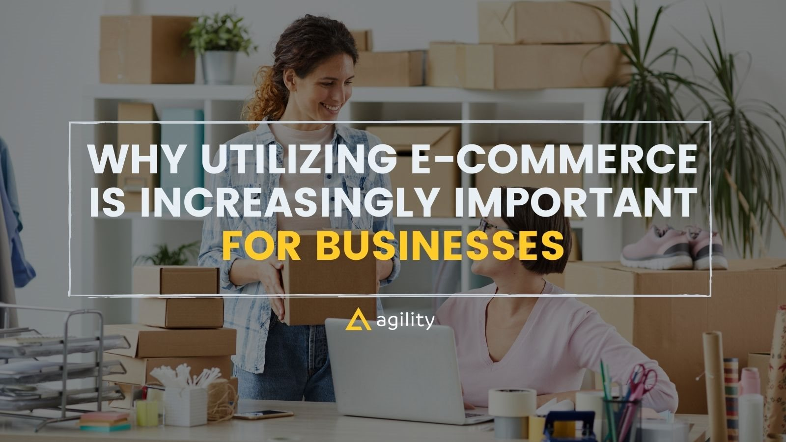 Why Utilizing E-commerce Is Increasingly Important with Agility CMS