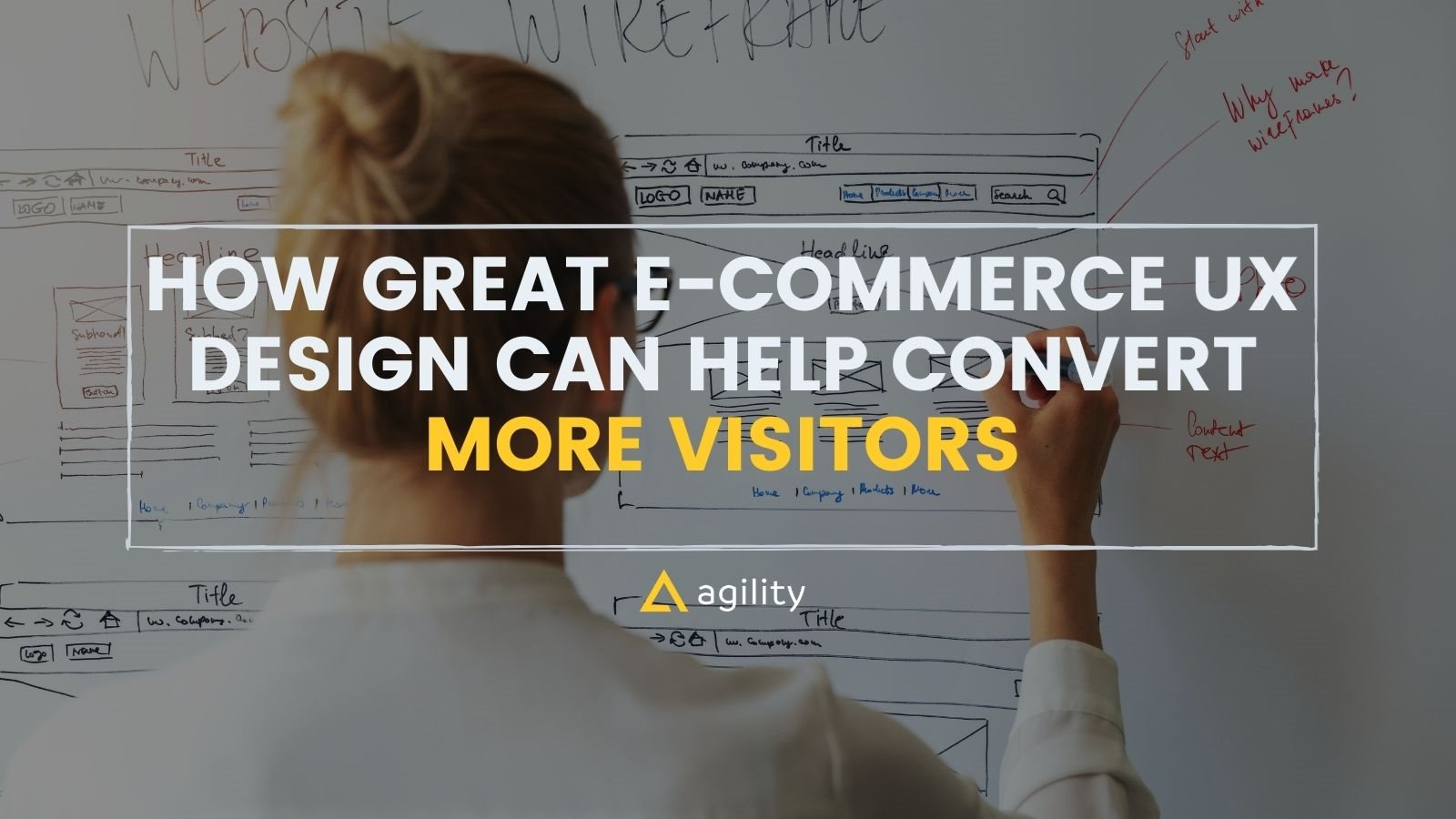 UX design to convert leads on agilitycms.com