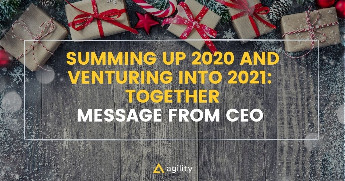 Summing up 2020 and Venturing into 2021:  Together
