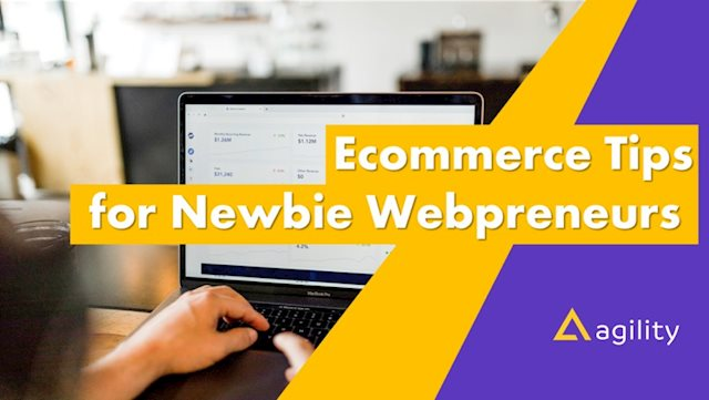 Ecommerce Tips for Newbie Webpreneurs