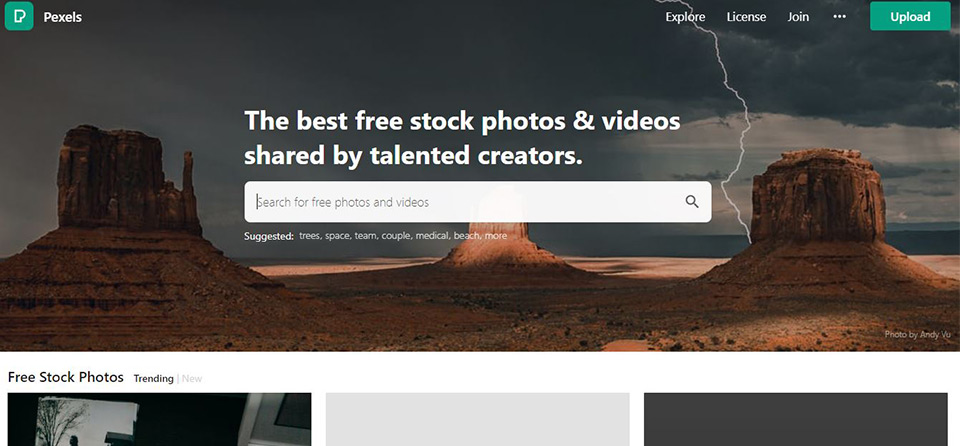 Pexels Free Stock Image Home Page