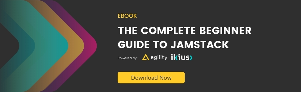 eBook JAMstack for Beginners - Agility CMS and Ikius