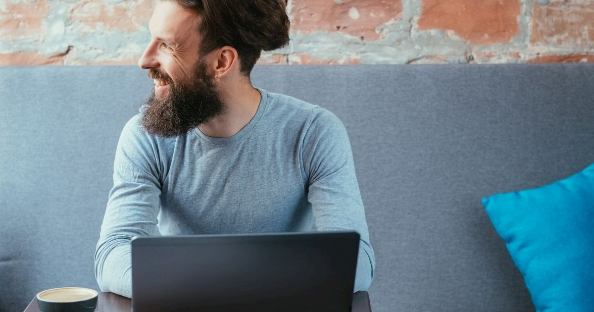 Man taking we dev course with Agility CMS