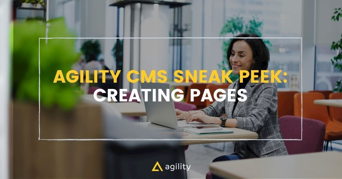 headless cms creating pages