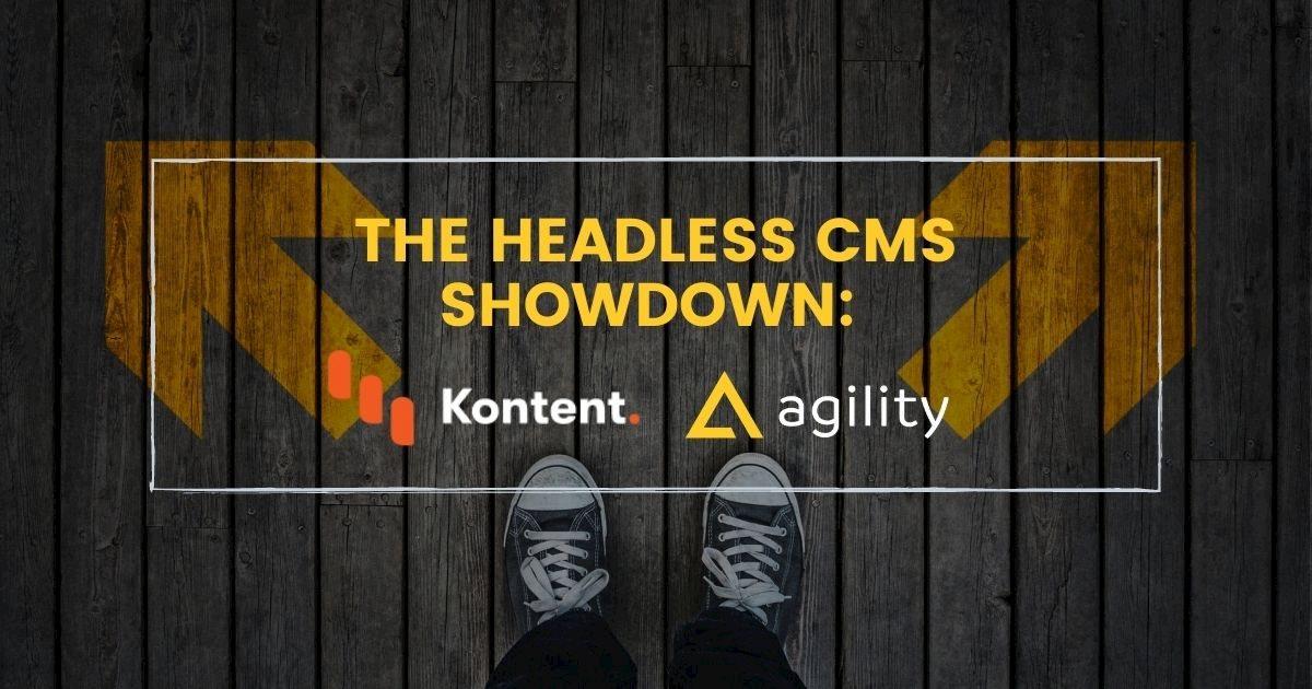 kentico kontent vs agility