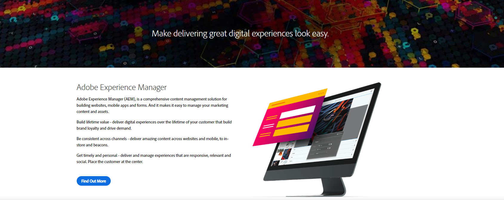 Adobe experience manager website